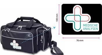 Pflegetasche mit Logo
